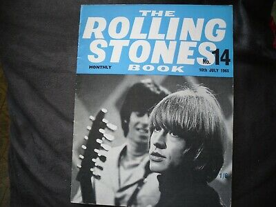 Rolling Stones Monthly Book - #14 July 1965 • 7.99£