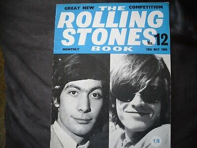 Rolling Stones Monthly Book - #12 May 1965 • 7.99£