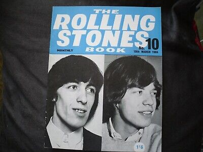 Rolling Stones Monthly Book - #10 March 1965 • 7.99£