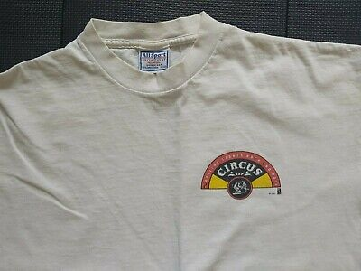 Rolling Stones Rock And Circus 1995 Uk Promo T Shirt Xl • 19.99£