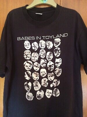 Vintage Babes In Toyland T Shirt Early 1990s • 65£