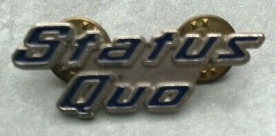 Vintage Metal Pin Badge 1993 Status Quo, Collectable • 9.99£