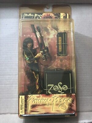 Neca Jimmy Page Led Zeppelin Memorabilia,   Action Figure New And Boxed • 100£