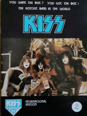 KISS - Official Kiss Army International Magazine Vol 2. As New Condition. • 10£