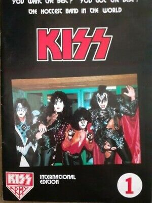 KISS Army Fan Club International Magazine Vol 1 • 12£