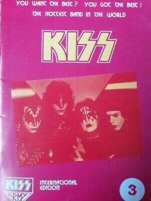 KISS  - Official Kiss Army International Magazine Vol 3. As New Condition. • 6.50£