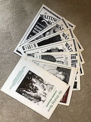 GENESIS The Waiting Room Magazines 7 Issues Issues 28 To 34 In Good Condition • 4£