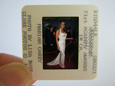 Original Press Photo Slide Negative - Mariah Carey - 1999 - H • 21.99£