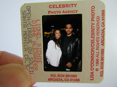 Original Press Photo Slide Negative - Lionel Richie & Diane Alexander - 1996 - A • 25.99£