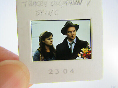 Original Press Photo Slide Negative - Sting & Tracey Ullman - 1980's • 25.99£