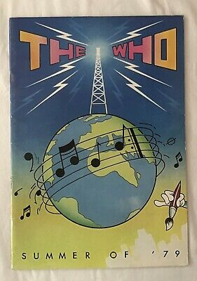 The Who Summer Of 79 Tour Programme • 15£