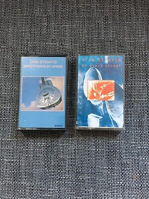 Dire Straits 2x Cassettes Brothers & On Every Street • 3.50£