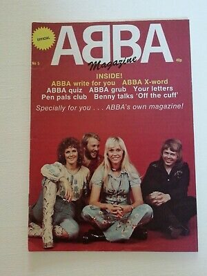 ABBA MAGAZINE NUMBER 5 Extremely Rare • 8.99£