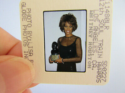 Original Press Photo Slide Negative - Whitney Houston - 1998 - M • 21.99£