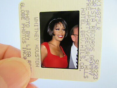 Original Press Photo Slide Negative - Whitney Houston - 1999 - N • 21.99£