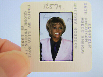 Original Press Photo Slide Negative - Whitney Houston - 1999 - P • 21.99£