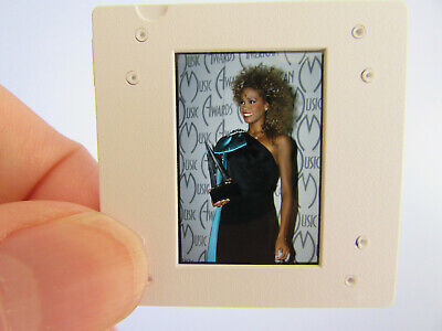 Original Press Photo Slide Negative - Whitney Houston - 1980's - T • 21.99£