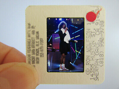 Original Press Photo Slide Negative - Whitney Houston - 1990's - U • 21.99£