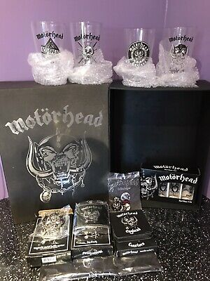 Motorhead Gift Box Large Ltd Ed Full New Unused • 65£