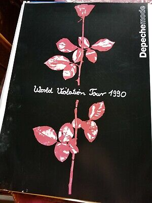 Depeche Mode  World Violation Tour 1990 Promo Poster • 22.22£