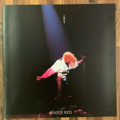 Simply Red - A New Flame Programme - Excellent Condition + Support Leaflet • 3.99£