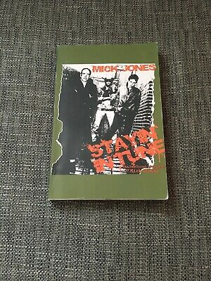Stayin In Tune Mick Jones The Clash Unofficial Biography • 12£