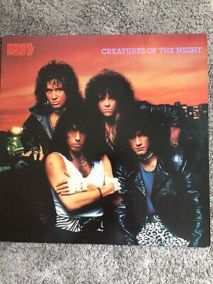 Kiss Creatures Of The Night Vinyl Non Make Up Version • 10£