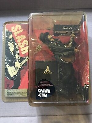 Mcfarlane Slash Action Figure Guns N' Roses Memorabilia - New & Boxed • 90£