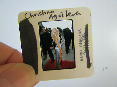 Original Press Photo Slide Negative - Christina Aguilera - 2000 - Y • 21.99£