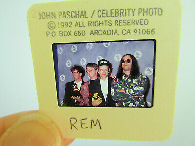 Original Press Photo Slide Negative - R.E.M. - 1992 - B • 15.99£