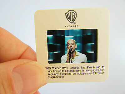 Original Press Photo Slide Negative - R.E.M. - Michael Stipe - 1999 - J • 15.99£