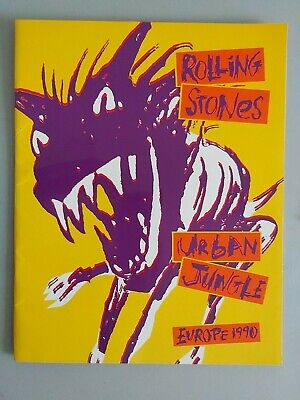 The Rolling Stones Urban Jungle Europe 1990 Program • 4.99£