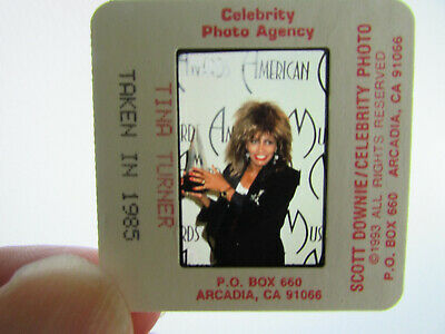 Original Press Photo Slide Negative - Tina Turner - 1985 - I • 25.99£