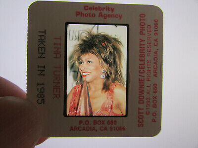 Original Press Photo Slide Negative - Tina Turner - 1985 - J • 25.99£