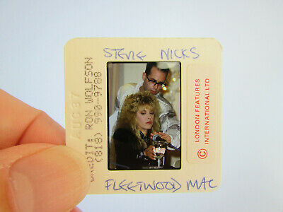Original Press Photo Slide Negative - Fleetwood Mac - Stevie Nicks - 1987 - N • 31.99£