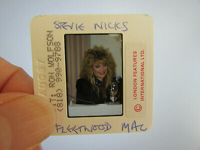 Original Press Photo Slide Negative - Fleetwood Mac - Stevie Nicks - 1987 - Q • 31.99£