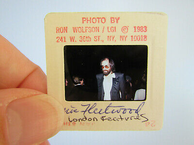 Original Press Photo Slide Negative - Fleetwood Mac - Mick Fleetwood - 1983 - D • 25.99£