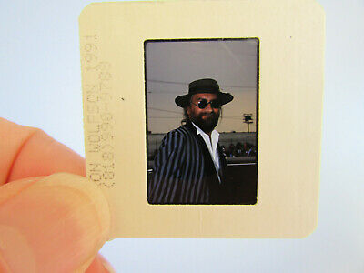 Original Press Photo Slide Negative - Fleetwood Mac - Mick Fleetwood - 1991 - F • 25.99£