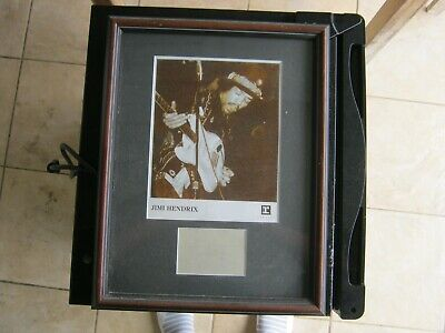 Jimi Hendrix Autograph Framed With Promo Photo • 1,500.94£