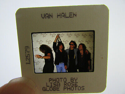 Original Press Photo Slide Negative - Van Halen - 1990's - C • 25.99£