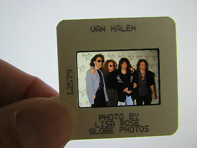 Original Press Photo Slide Negative - Van Halen - 1990's - D • 25.99£