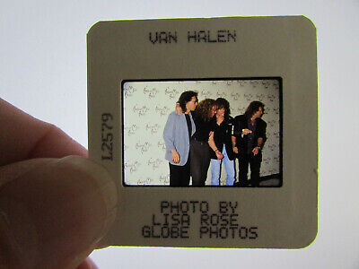 Original Press Photo Slide Negative - Van Halen - 1990's - E • 25.99£