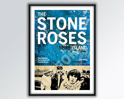 STONE ROSES At Spike Island REIMAGINED Poster A3 Size. • 14£