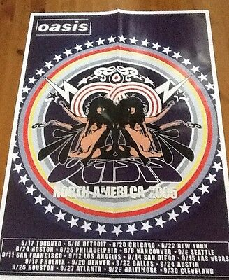 Oasis Tour Poster 2005 North America  • 25£