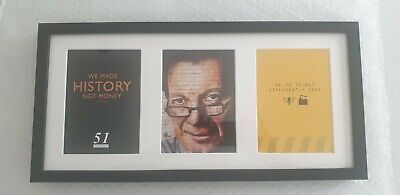 Hacienda-We Made History-Tony Wilson- This Is Manchester- Memorabilia. Framed • 22.50£