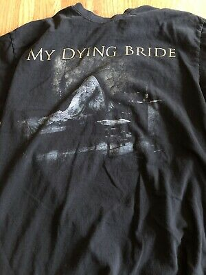 My Dying Bride A Map Of All Our Failures Tour T Shirt Size M • 8£