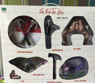 Pink Floyd - The Wall - Series 1 - 2004 Limited Ed. Box Set Of 6 Toy Figures • 899.99£