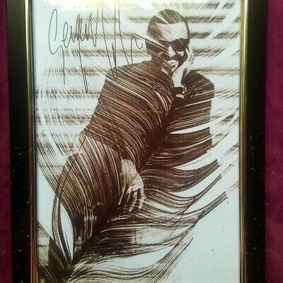 George Michael Feather Picture - Framed A4 • 20£