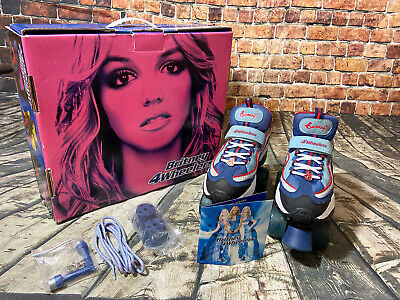 Boxed Vintage Britney Spears 4 Wheelers Roller Skates Collectable UK 5 US 8 • 69.99£