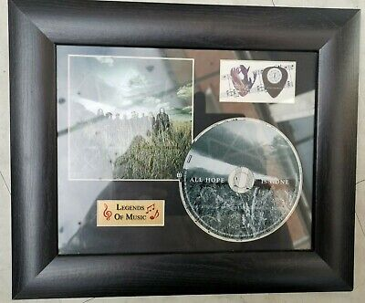 Slipknot  All Hope Is Gone  Legends Of Music CD Picture 33cm X 27cm • 20£